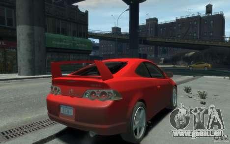 Acura RSX pour GTA 4 est une gauche