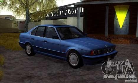 BMW 525 (E34) V.2 pour GTA San Andreas