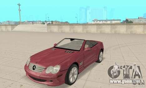 Mercedes-Benz SL500 (R230) pour GTA San Andreas