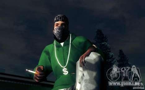Realistische Zigarette für GTA San Andreas fünften Screenshot