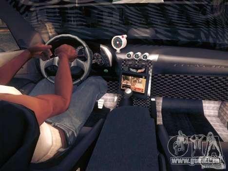 Chevrolet Corvette C6 Z06 Tuning pour GTA San Andreas moteur