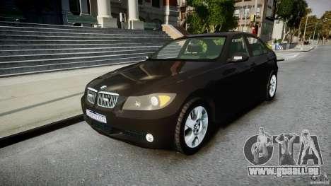 BMW 3-Series Unmarked [ELS] für GTA 4