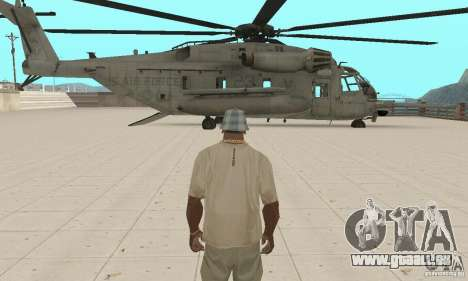 Sikorsky MH-53 für GTA San Andreas Seitenansicht