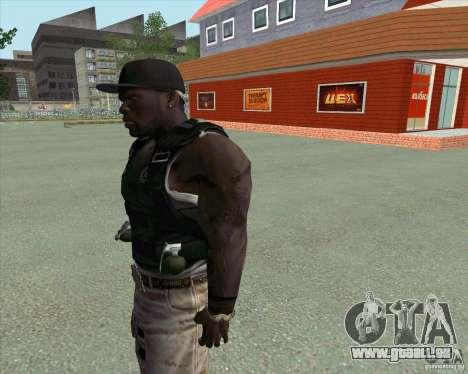 50 Cent pour GTA San Andreas troisième écran