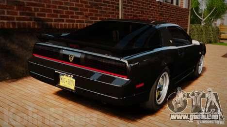Pontiac Firebird Trans Am GTA 1987 [EPM] pour GTA 4 Vue arrière de la gauche