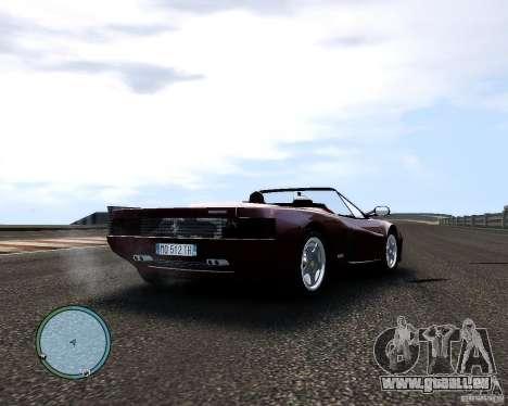 Ferrari Testarossa für GTA 4 rechte Ansicht