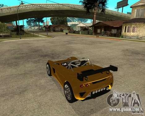Lotus 2-Eleven pour GTA San Andreas laissé vue