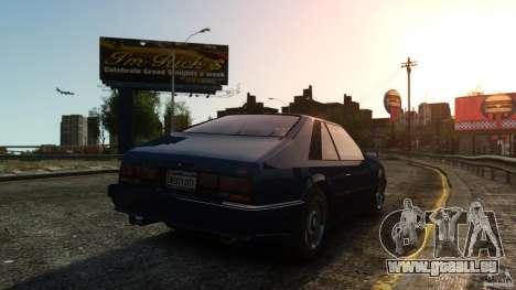 Uranus Hatchback für GTA 4 rechte Ansicht