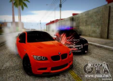 BMW M3 GT-S für GTA San Andreas obere Ansicht