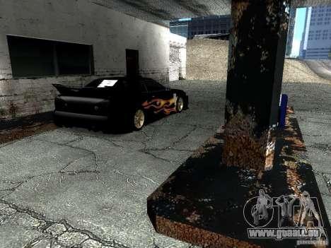 Rèjzora de vinyle de Most Wanted pour GTA San Andreas sur la vue arrière gauche