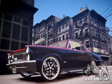 Pontiac GTO 1965 Custom discks pack 3 pour GTA 4