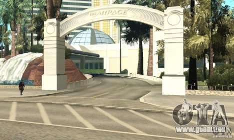 Welcome to Las Vegas pour GTA San Andreas cinquième écran