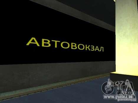 Greatland-Grèjtlènd v0.1 pour GTA San Andreas troisième écran