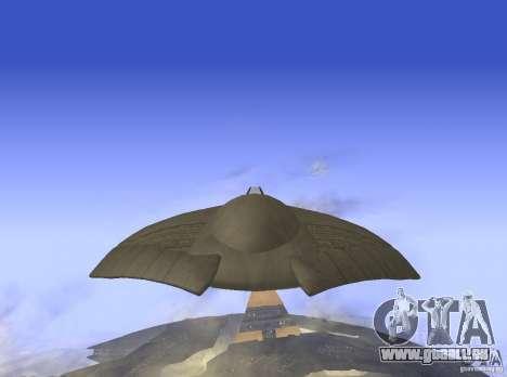 Death Glider für GTA San Andreas zurück linke Ansicht
