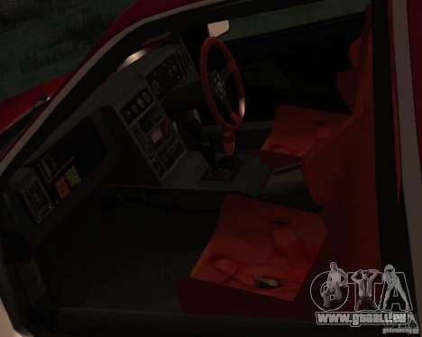 Ford RS 200 pour GTA San Andreas vue de côté