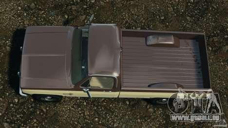 Chevrolet Silverado 1986 für GTA 4 rechte Ansicht