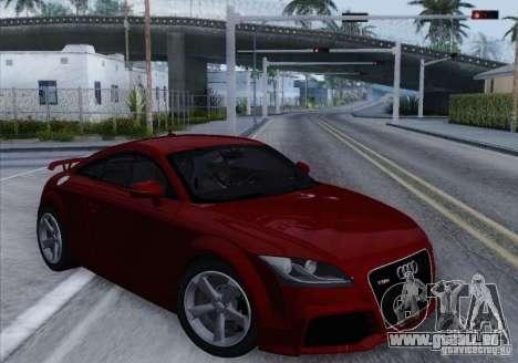 Audi TT-RS Coupe pour GTA San Andreas laissé vue