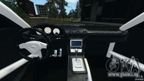 Nissan Silvia KeiOffice pour GTA 4 Vue arrière