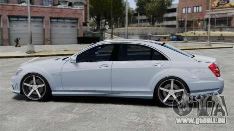 Mercedes-Benz S65 W221 Vossen v1.2 pour GTA 4 est une gauche