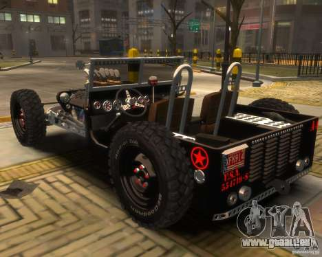 Willys Hot-Rod für GTA 4 linke Ansicht