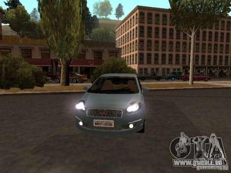 Fiat Linea T-jet pour GTA San Andreas laissé vue