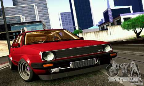 Volkswagen Golf MkII Racing pour GTA San Andreas