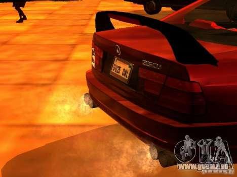 BMW 850i für GTA San Andreas rechten Ansicht