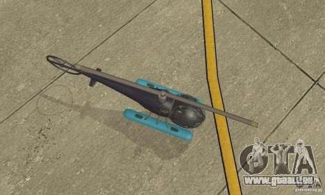 Dragonfly pour GTA San Andreas vue de droite