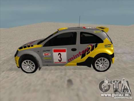 Opel Rally Car für GTA San Andreas linke Ansicht