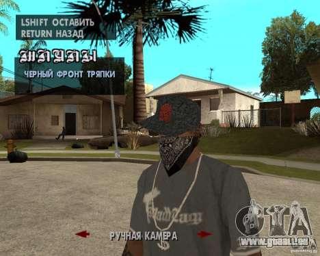 Hip-Hop caps pour GTA San Andreas septième écran