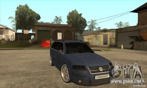 Volkswagen Passat B5.5 2.5TDI 4MOTION pour GTA San Andreas vue arrière