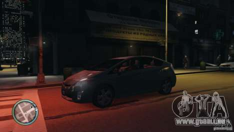 Glossy Radar pour GTA 4 secondes d'écran