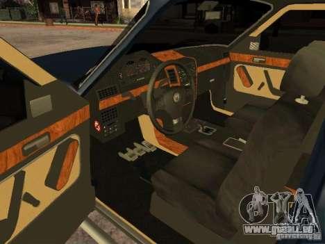HD Columb pour GTA San Andreas sur la vue arrière gauche