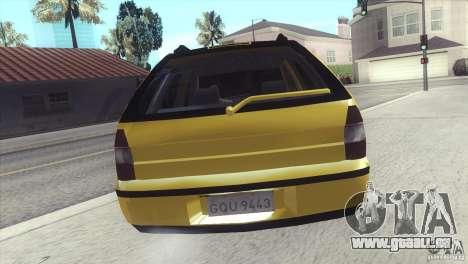Fiat Palio Weekend 1997 pour GTA San Andreas laissé vue