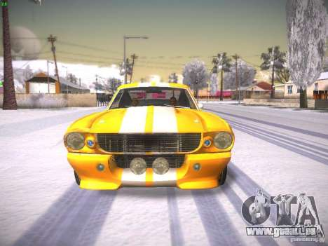 Shelby GT500 Eleanor für GTA San Andreas rechten Ansicht