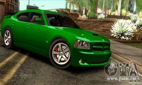Dodge Charger SRT8 pour GTA San Andreas vue intérieure