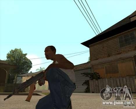 AK74U pour GTA San Andreas deuxième écran