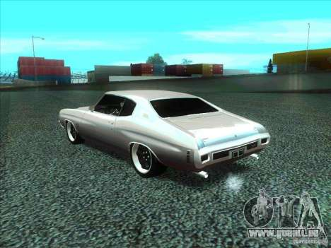 Chevrolet Chevelle SS Domenic from FnF 4 für GTA San Andreas linke Ansicht