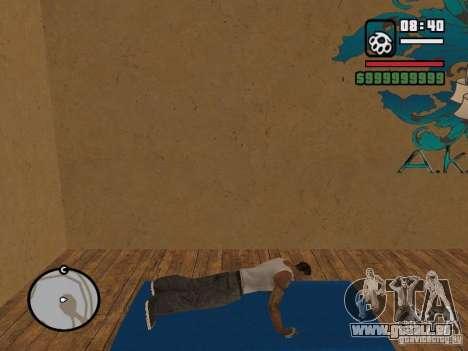 Training and Charging pour GTA San Andreas deuxième écran