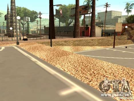 Dem neuen Basketballplatz in Los Santos für GTA San Andreas her Screenshot