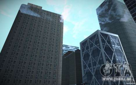 Gratte-ciel de HD pour GTA San Andreas quatrième écran