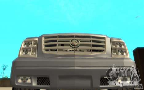 Cadillac Escalade pour GTA San Andreas vue de dessus