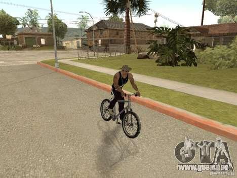 Masquer-get armes dans la voiture pour GTA San Andreas deuxième écran