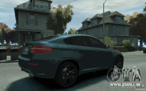 BMW X6-M 2010 für GTA 4 rechte Ansicht