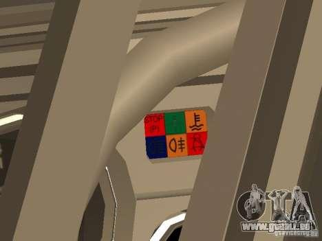 VAZ 2105 v. 2 für GTA San Andreas Rückansicht