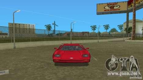 Infernus BETA für GTA Vice City zurück linke Ansicht