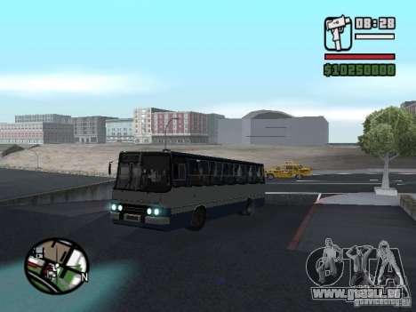 Ikarus 260.27 für GTA San Andreas zurück linke Ansicht