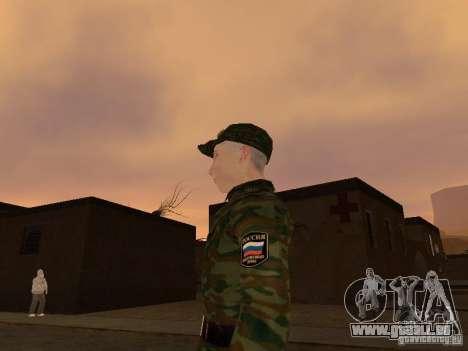 Soldats de l'armée russe pour GTA San Andreas deuxième écran