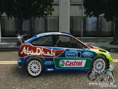 Ford Focus RS WRC für GTA 4 hinten links Ansicht