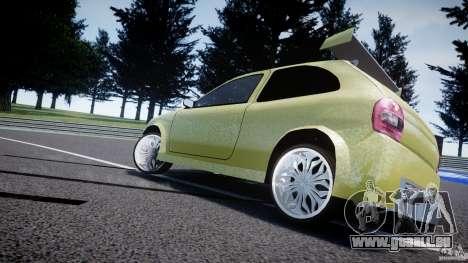 Chevrolet Corsa Extreme Revolution pour GTA 4 est un côté